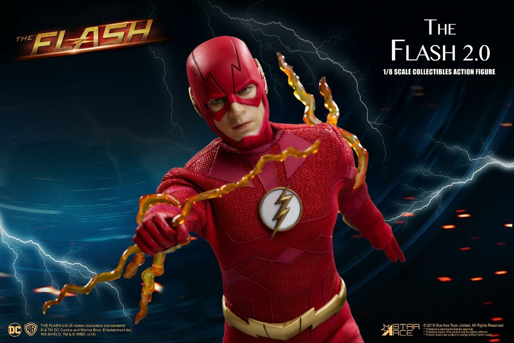Figurine The Flash Real Master Series The Flash 2.0 Normal Version 23cm 1001 Figurines (2)