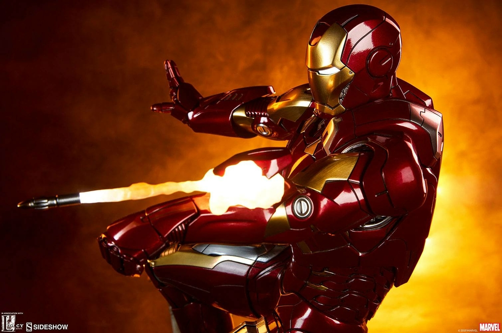 Statue The Avengers Iron Man Mark VII 54cm 1001 fIGURINES (3)