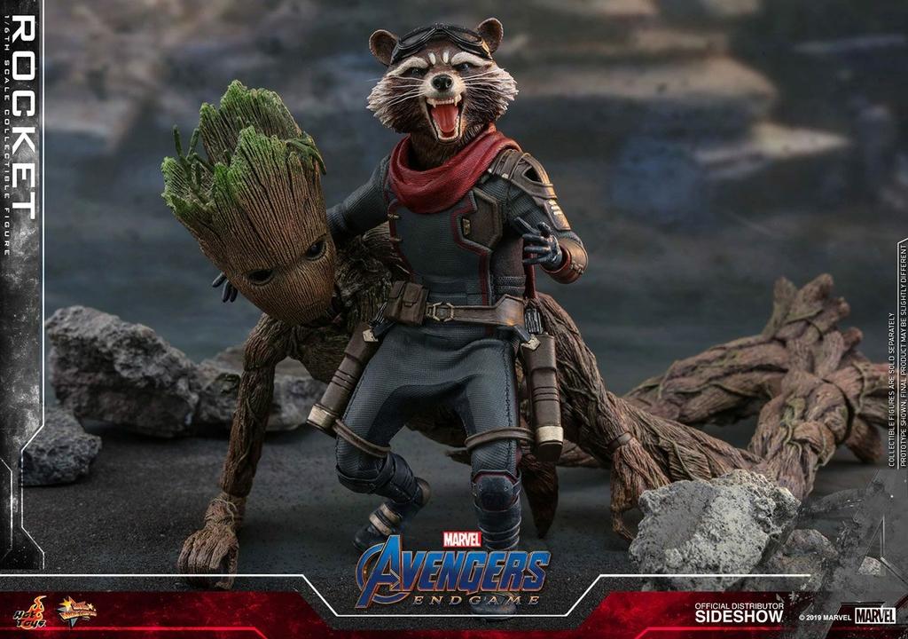 Figurine Avengers Endgame Movie Masterpiece Rocket 16cm 1001 Figurines (7)