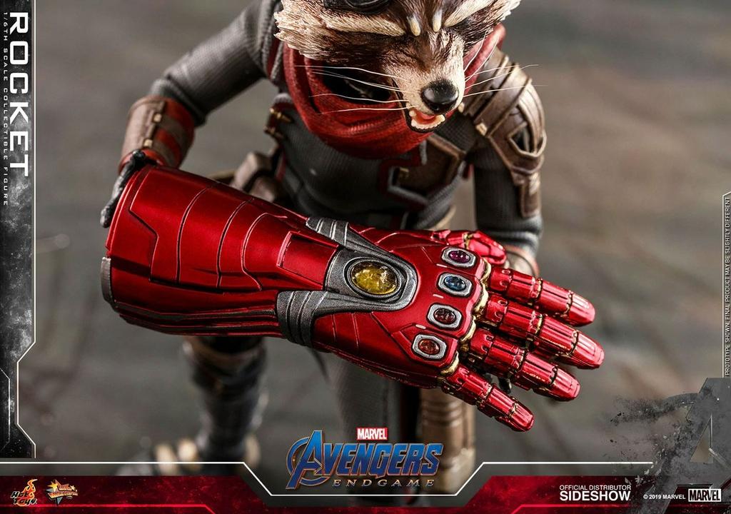 Figurine Avengers Endgame Movie Masterpiece Rocket 16cm 1001 Figurines (10)