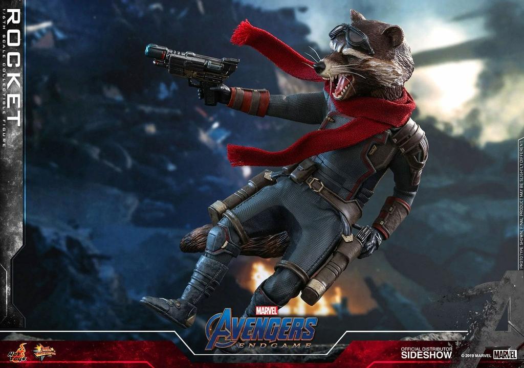 Figurine Avengers Endgame Movie Masterpiece Rocket 16cm 1001 Figurines (9)