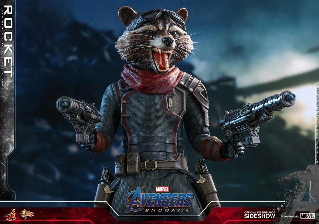Figurine Avengers Endgame Movie Masterpiece Rocket 16cm 1001 Figurines (11)