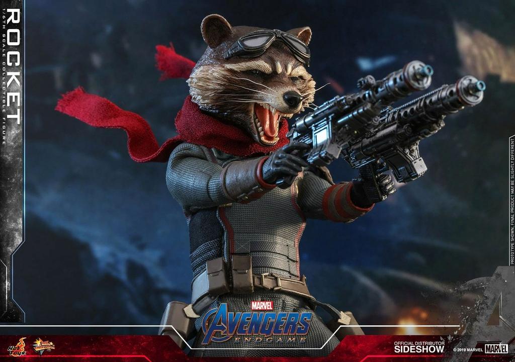 Figurine Avengers Endgame Movie Masterpiece Rocket 16cm 1001 Figurines (13)