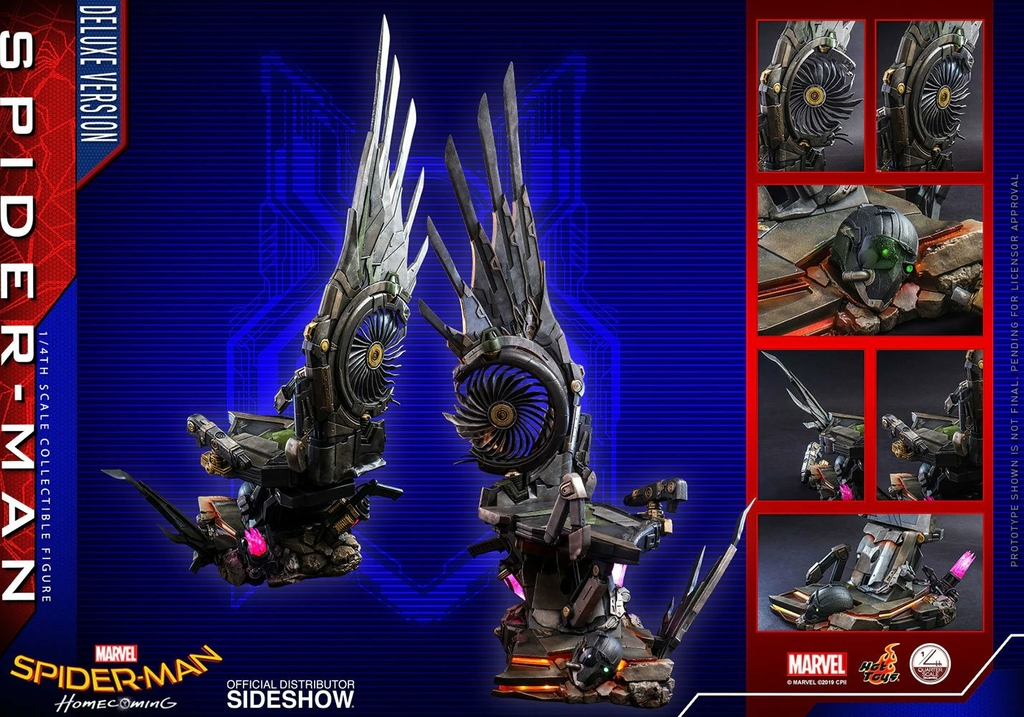 Figurine Spider-Man Homecoming Quarter Scale Series Spider-Man Deluxe Version 44cm 1001 Figurines (14)