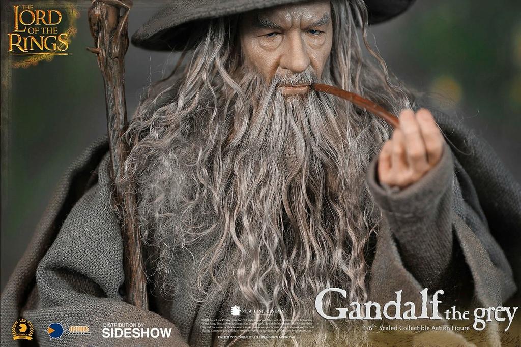 Figurine Le Seigneur des Anneaux Gandalf 32cm 1001 Figurines (3)