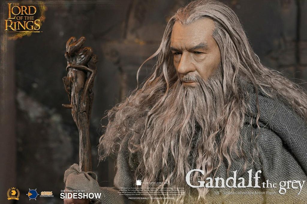 Figurine Le Seigneur des Anneaux Gandalf 32cm 1001 Figurines (11)
