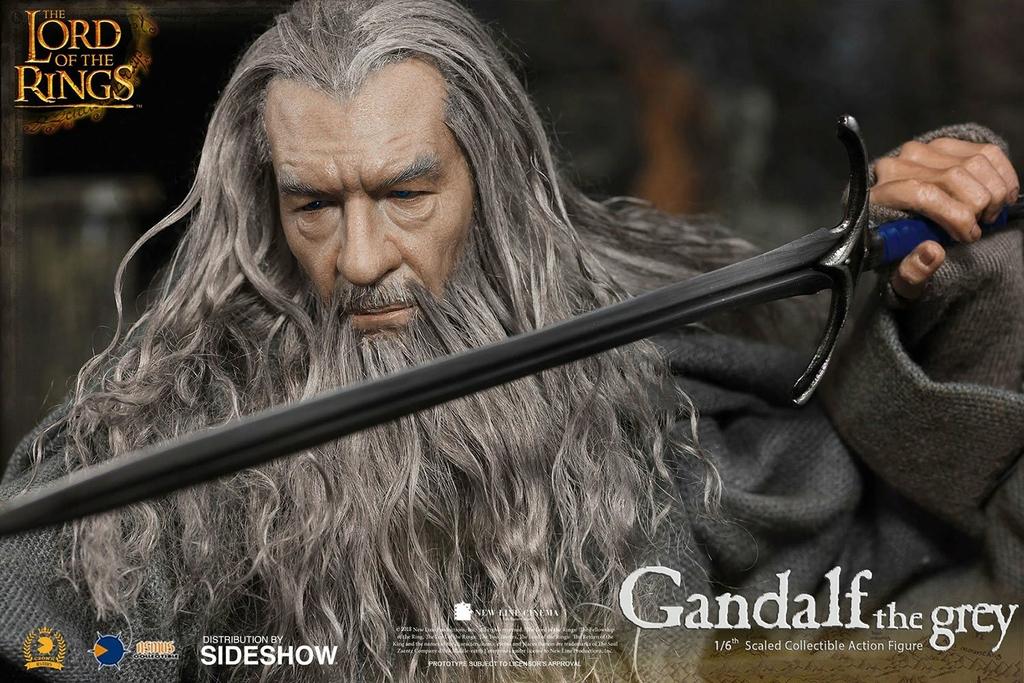 Figurine Le Seigneur des Anneaux Gandalf 32cm 1001 Figurines (15)