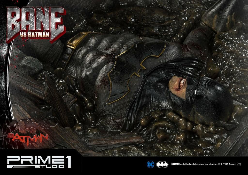Statue DC Comics Bane VS Batman 83cm 1001 Figurines (19)