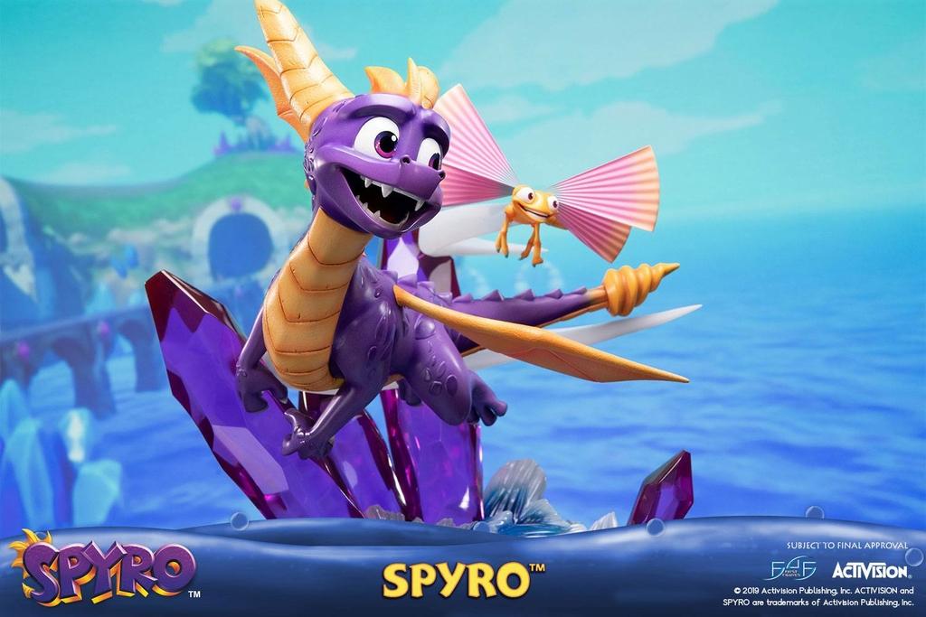 Statue Spyro Reignited Trilogy Spyro 45cm 1001 Figurines (2)