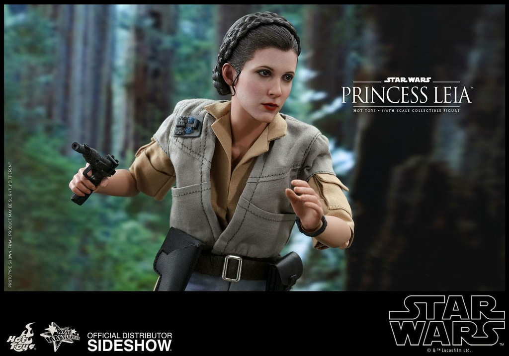 Figurine Star Wars Episode VI Movie Masterpiece Princess Leia 27cm 1001 Figurines (4)