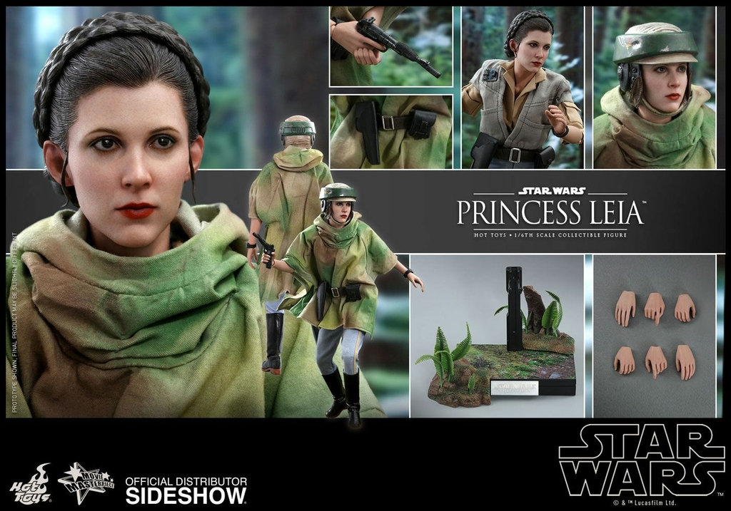 Figurine Star Wars Episode VI Movie Masterpiece Princess Leia 27cm 1001 Figurines (6)