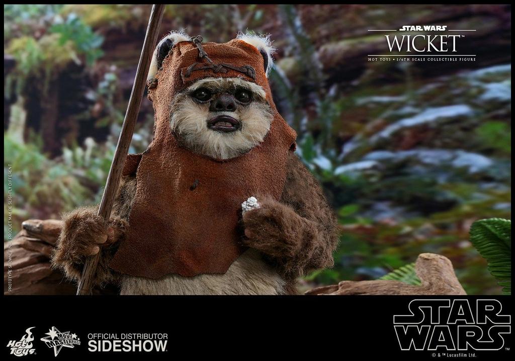 Figurine Star Wars Episode VI Movie Masterpiece Wicket 15cm 1001 figurines (6)