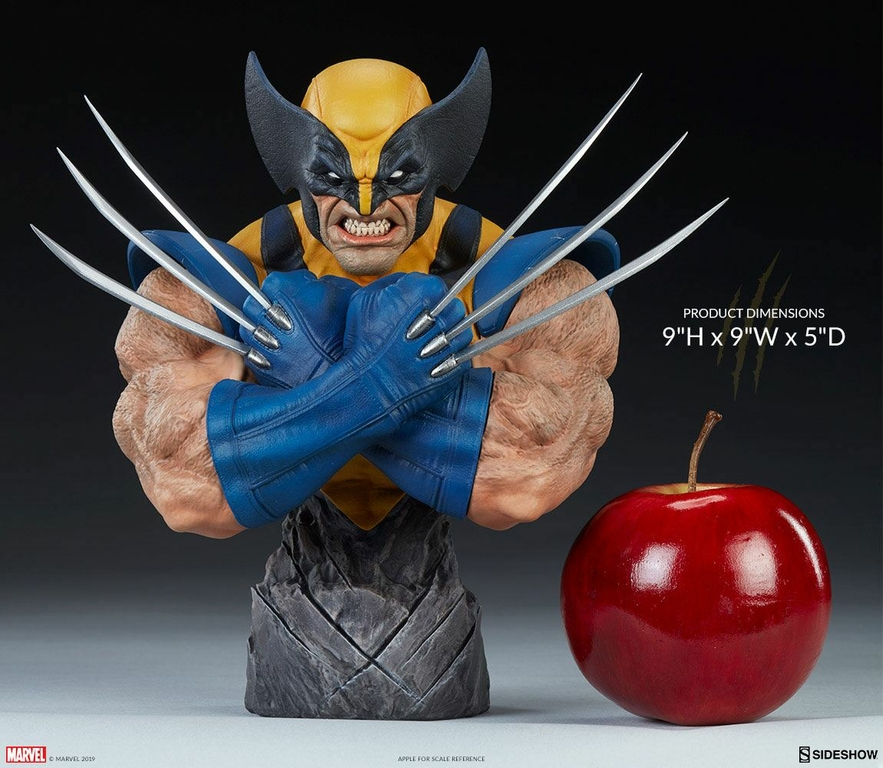 Buste Marvel Comics Wolverine 23cm 1001 Figurines (2)