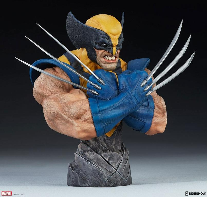 Buste Marvel Comics Wolverine 23cm 1001 Figurines (6)