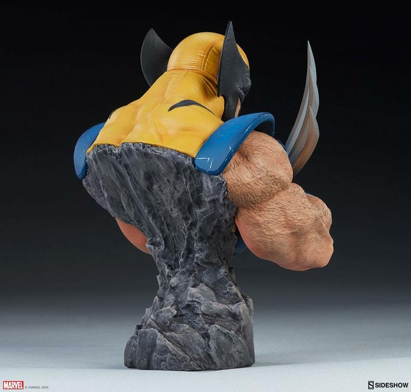 Buste Marvel Comics Wolverine 23cm 1001 Figurines (5)