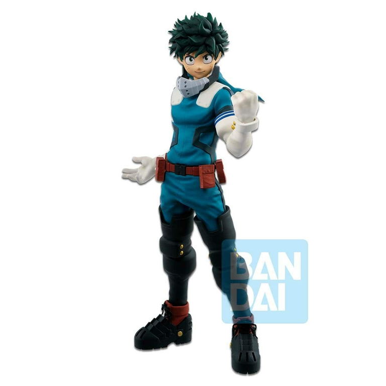 Statuette My Hero Academia Ichibansho Izuku Midoriya Fighting Heroes feat. One's Justice 24cm  1001 Figurines