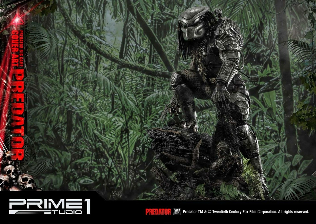 Statue Predator Big Game Cover Art Predator 72cm 1001 Figurines (12)