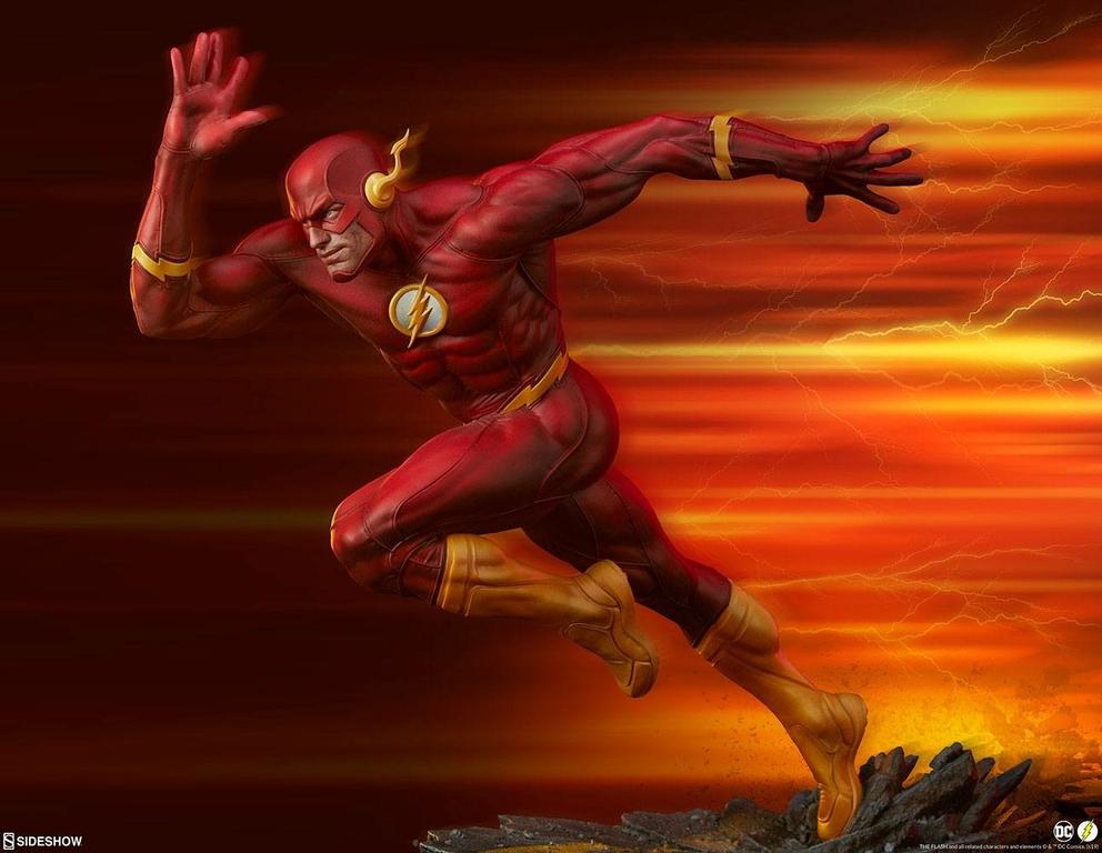 Statuette DC Comics Premium Format The Flash 43cm 1001 Figurines (1)