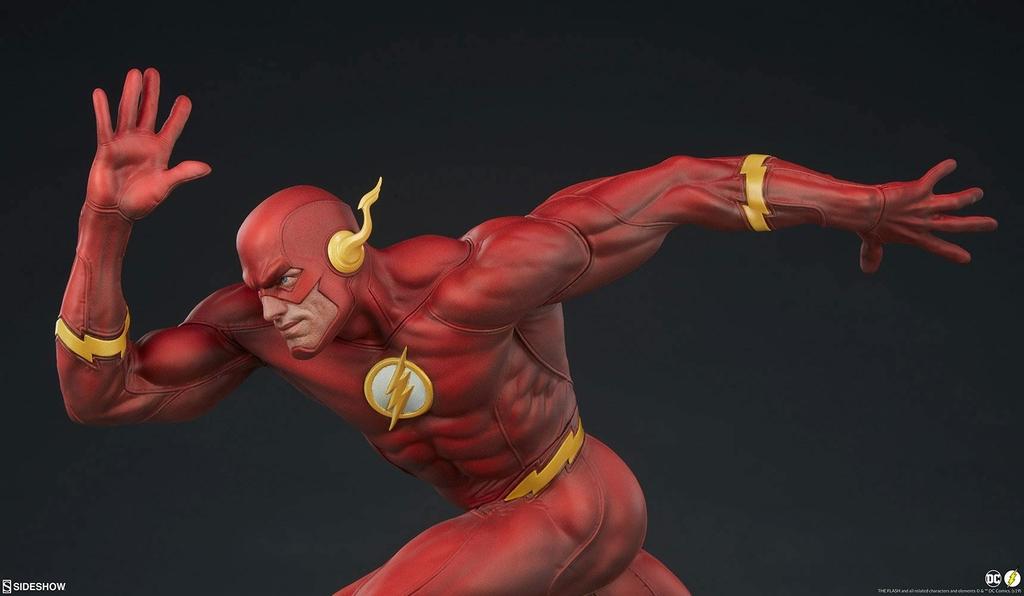 Statuette DC Comics Premium Format The Flash 43cm 1001 Figurines (13)