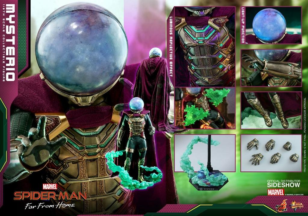 Figurine Spider-Man Far From Home Movie Masterpiece Mysterio 30cm  1001 Figurines (2)