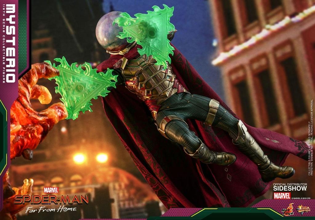 Figurine Spider-Man Far From Home Movie Masterpiece Mysterio 30cm  1001 Figurines (3)