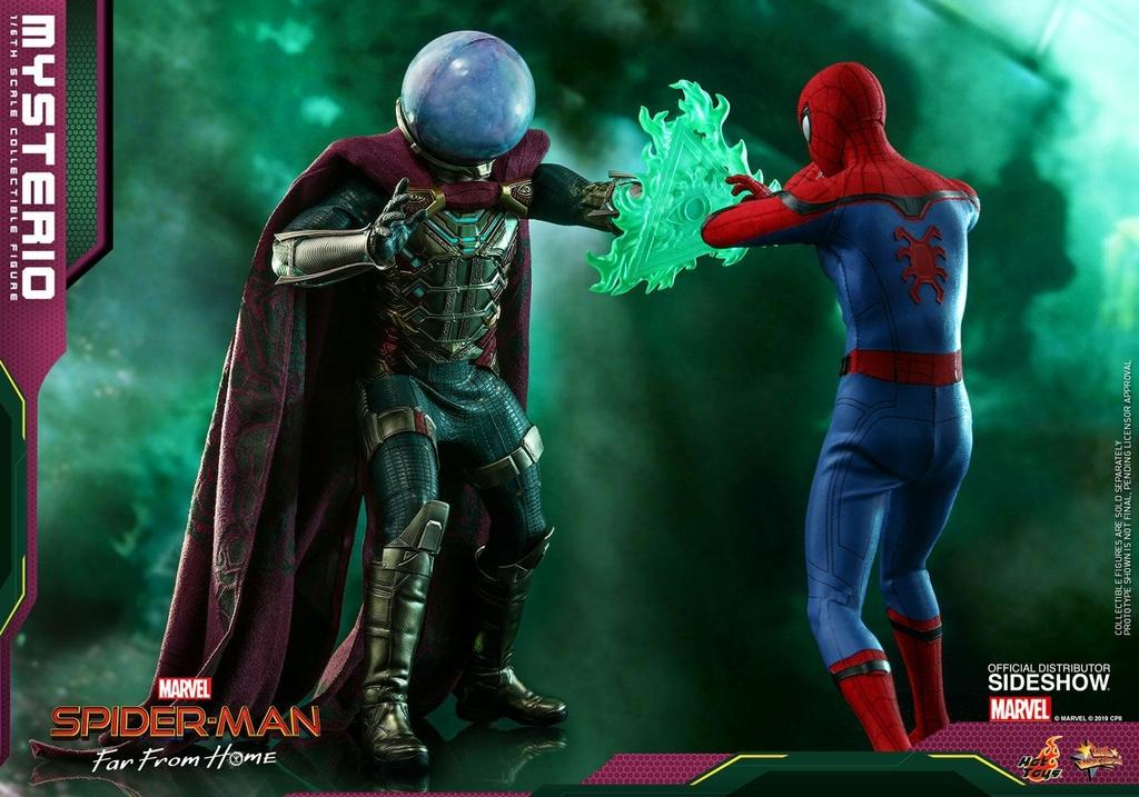 Figurine Spider-Man Far From Home Movie Masterpiece Mysterio 30cm  1001 Figurines (4)