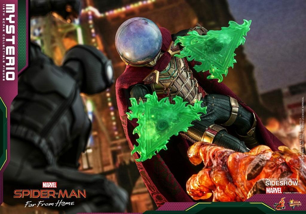 Figurine Spider-Man Far From Home Movie Masterpiece Mysterio 30cm  1001 Figurines (7)