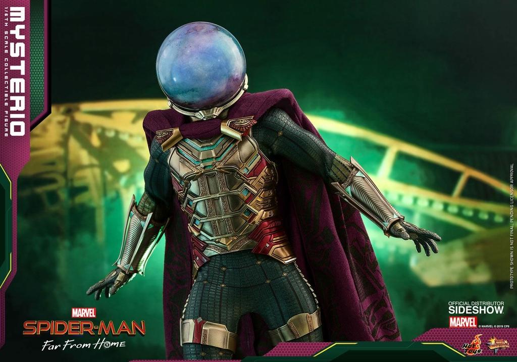 Figurine Spider-Man Far From Home Movie Masterpiece Mysterio 30cm  1001 Figurines (11)