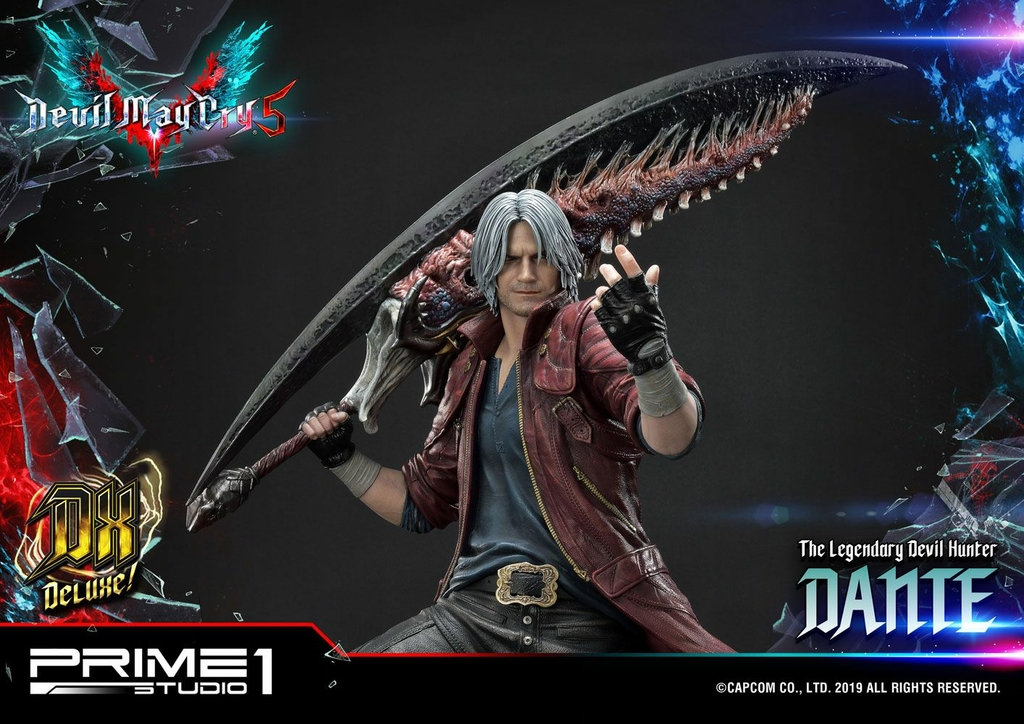 Statue Devil May Cry 5 Dante Deluxe Ver. 74cm 1001 Figurines (11)