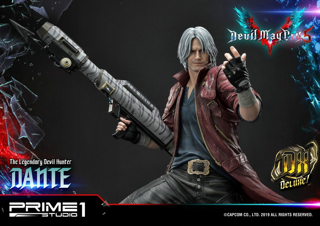Statue Devil May Cry 5 Dante Deluxe Ver. 74cm 1001 Figurines (13)