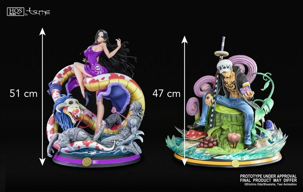 Statue One Piece Boa Hancock Tsume HQS+ 51cm 1001 Figurines 12