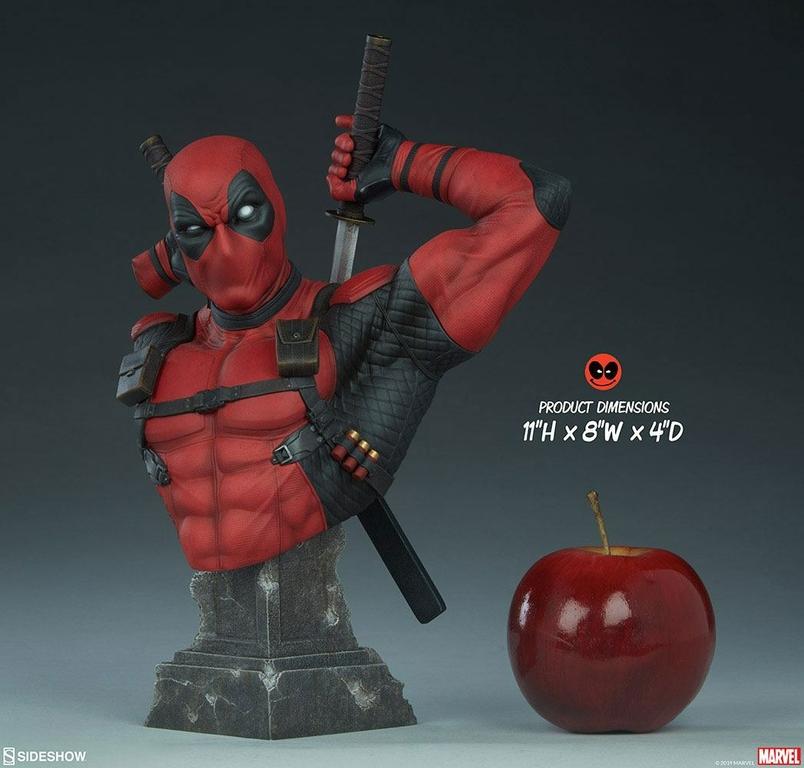 Buste Marvel Comics Deadpool 28cm 1001 figurines (2)