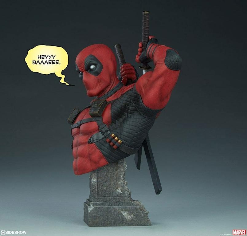 Buste Marvel Comics Deadpool 28cm 1001 figurines (3)