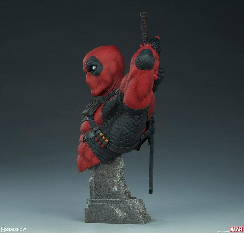 Buste Marvel Comics Deadpool 28cm 1001 figurines (4)
