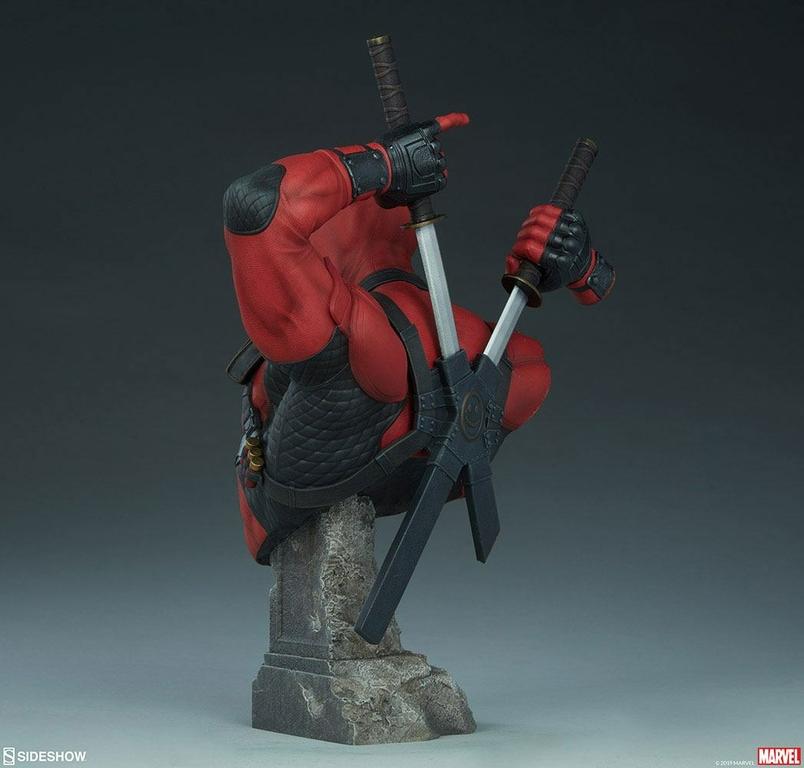 Buste Marvel Comics Deadpool 28cm 1001 figurines (5)
