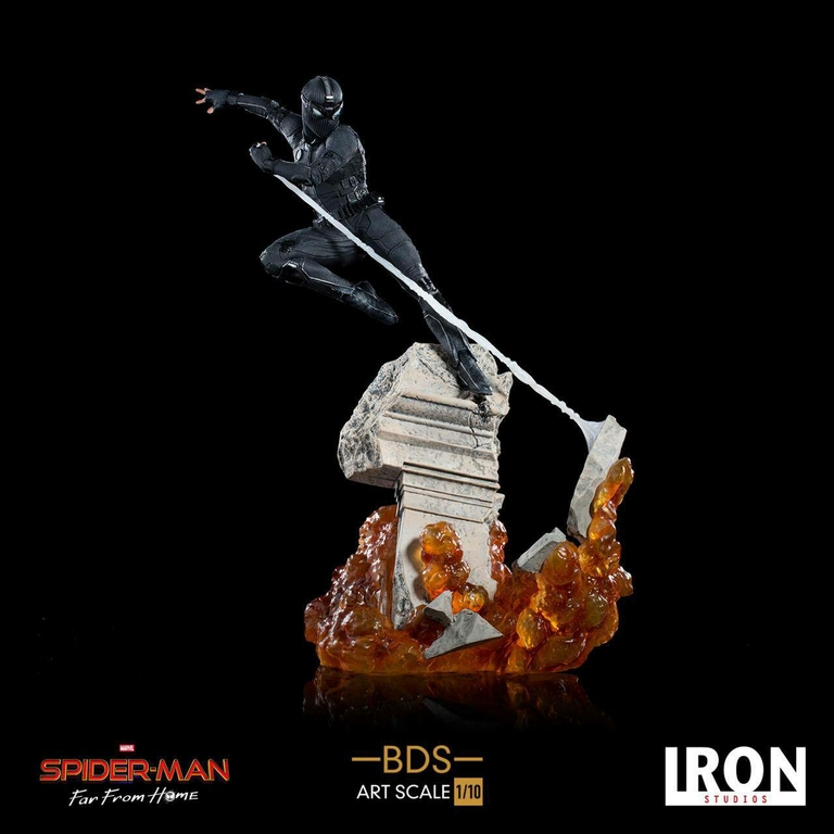 Statuette Spider-Man Far From Home BDS Art Scale Deluxe Night Monkey 26cm 1001 Figurines