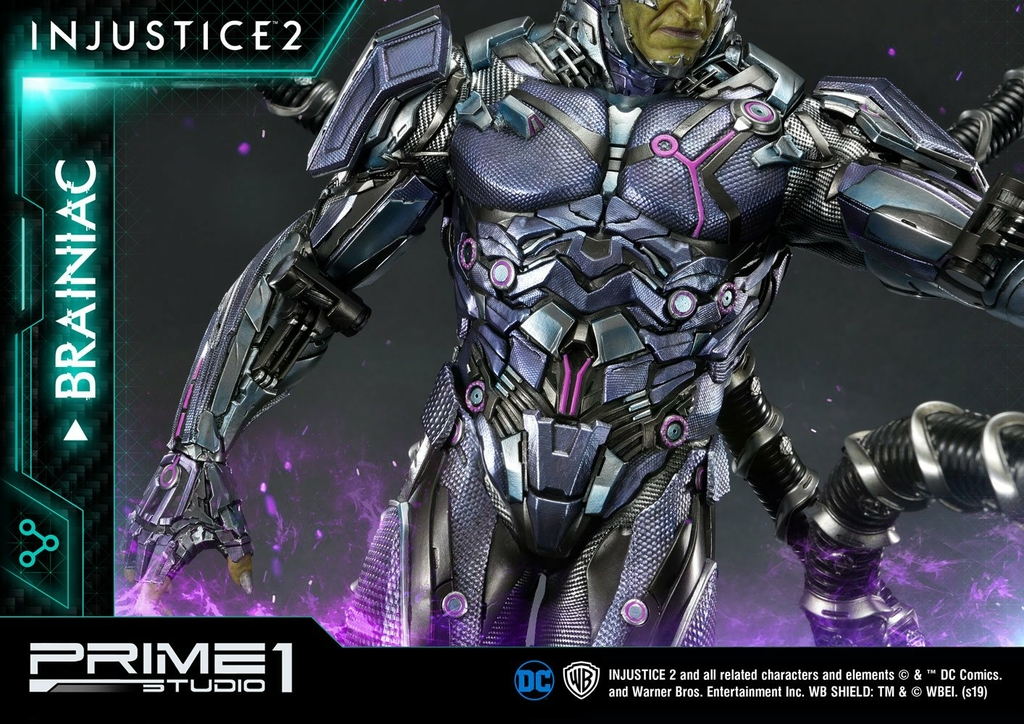 Statue Injustice 2 Brainiac 75cm 1001 figurines (12)