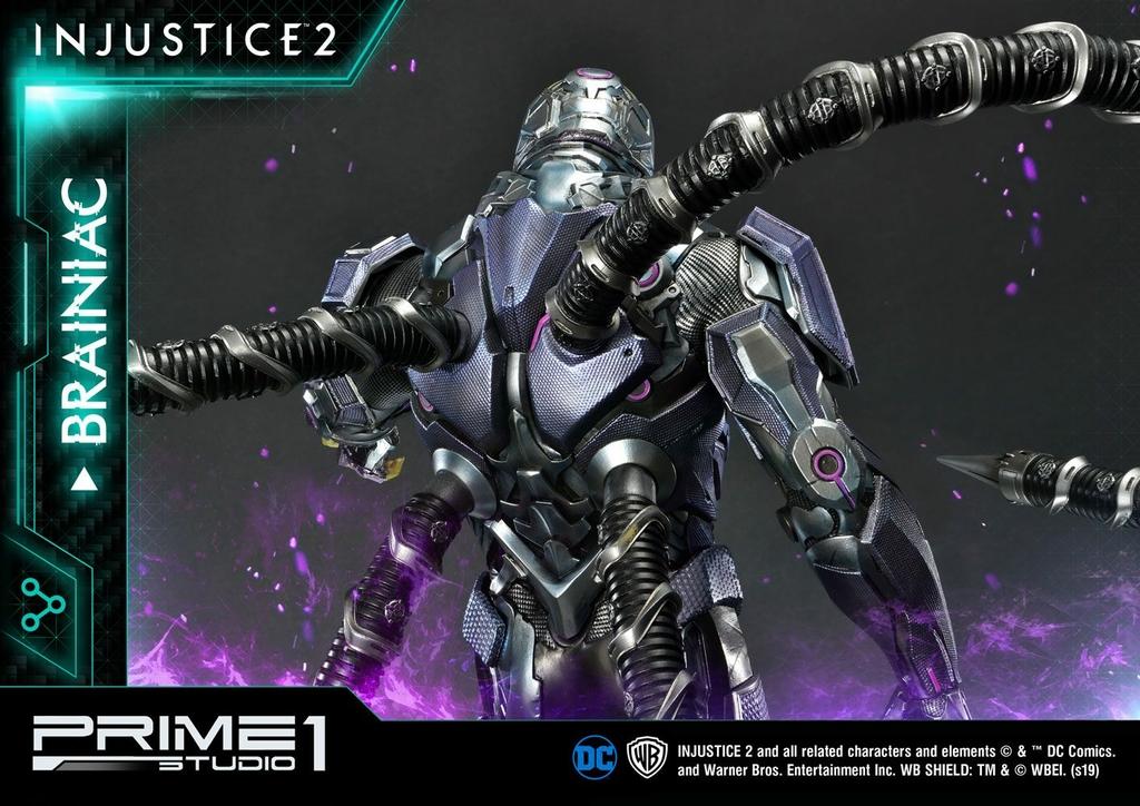 Statue Injustice 2 Brainiac 75cm 1001 figurines (14)