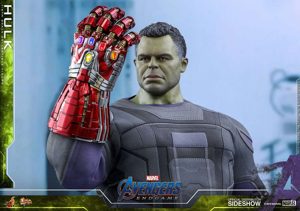 Figurine Avengers Endgame Movie Masterpiece Hulk 39cm 1001 Figurines (7)