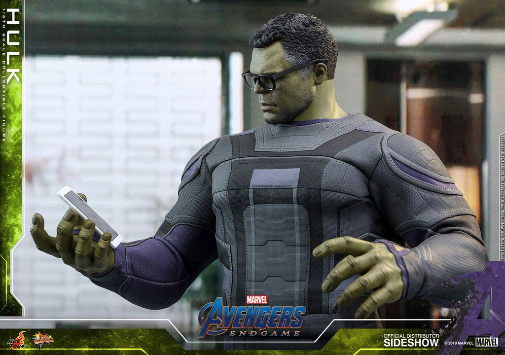 Figurine Avengers Endgame Movie Masterpiece Hulk 39cm 1001 Figurines (9)
