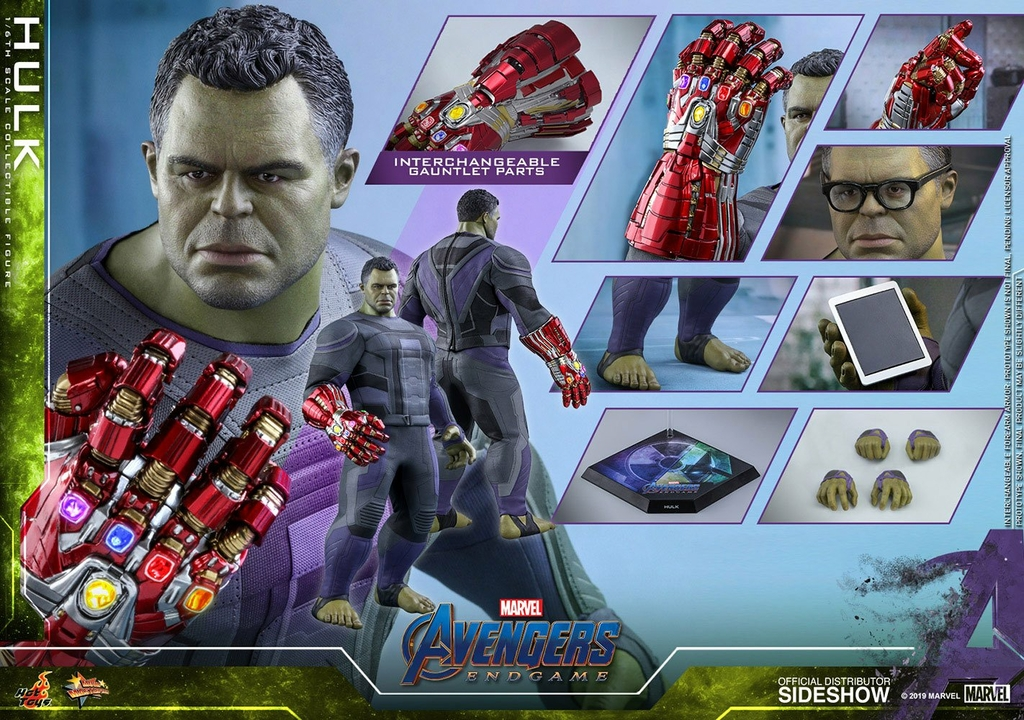 Figurine Avengers Endgame Movie Masterpiece Hulk 39cm 1001 Figurines (13)