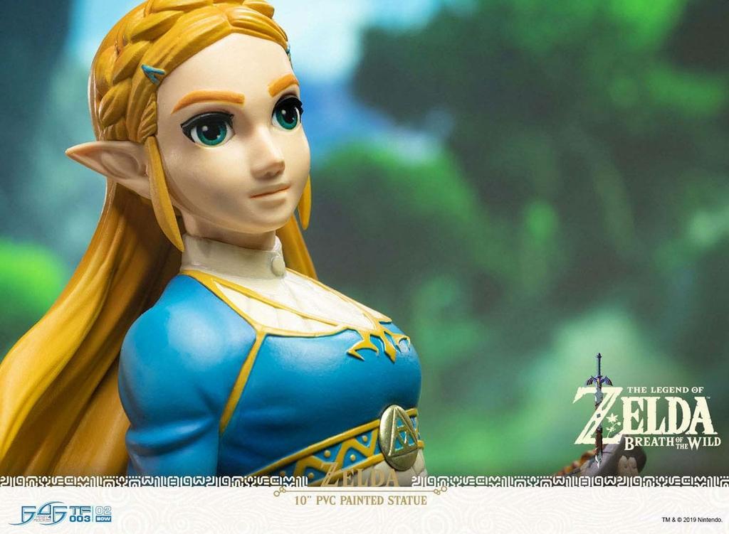 Statuette The Legend of Zelda Breath of the Wild Zelda 25cm 1001 figurines (5)