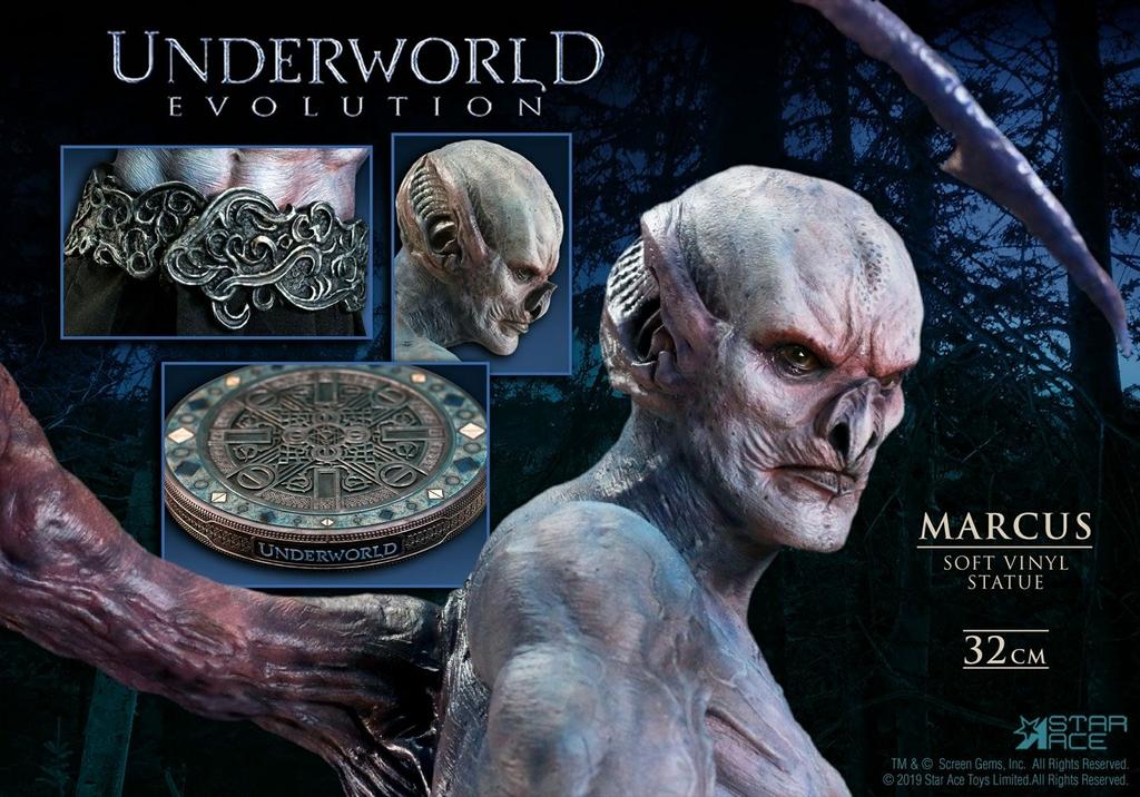 Statuette Underworld Evolution Soft Vinyl Marcus Deluxe Version 32cm 1001 Figurines (7)