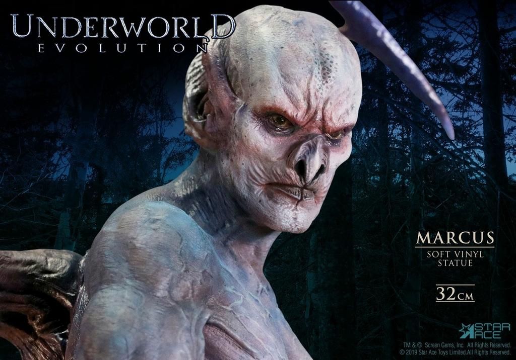 Statuette Underworld Evolution Soft Vinyl Marcus Deluxe Version 32cm 1001 Figurines (8)