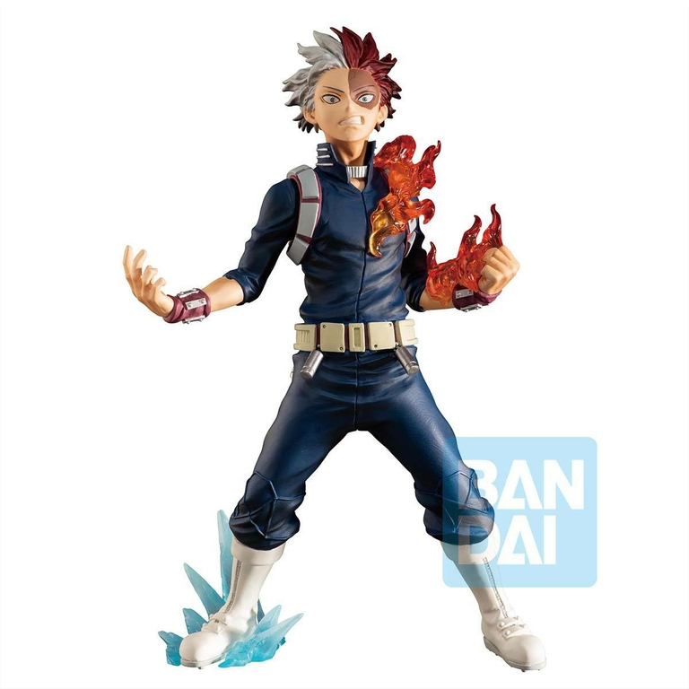 Statuette My Hero Academia Ichibansho Shoto Todoroki Next Generations! feat. Smash Rising 18 cm 1001 Figurines