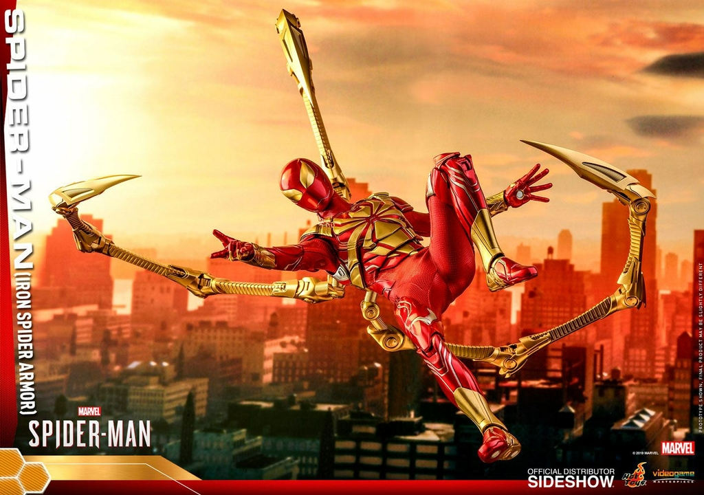 Figurine Marvels Spider-Man Video Game Masterpiece Spider-Man Iron Spider Armor 30cm 1001 Figurines (16)