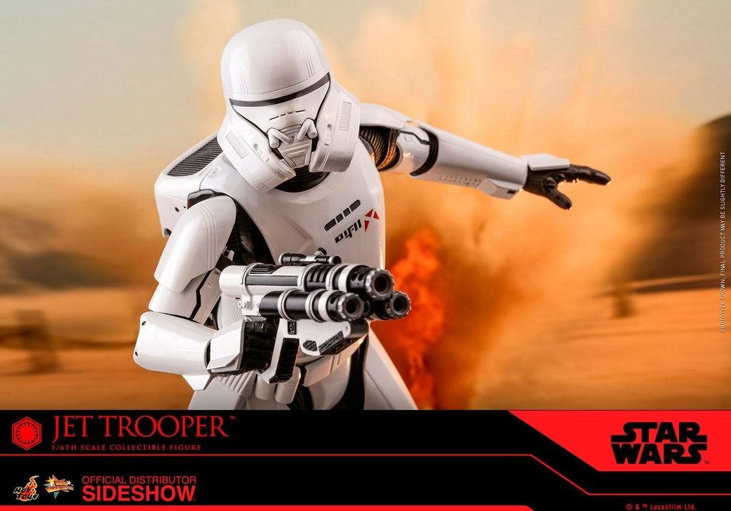 Figurine Star Wars Episode IX Movie Masterpiece Jet Trooper 31cm 1001 Figurines (8)