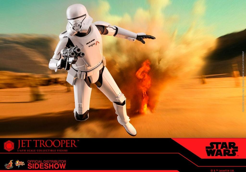 Figurine Star Wars Episode IX Movie Masterpiece Jet Trooper 31cm 1001 Figurines (7)