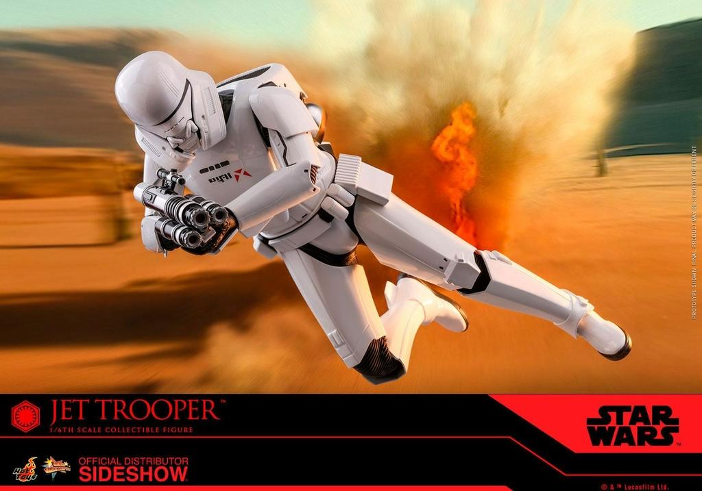 Figurine Star Wars Episode IX Movie Masterpiece Jet Trooper 31cm 1001 Figurines (13)