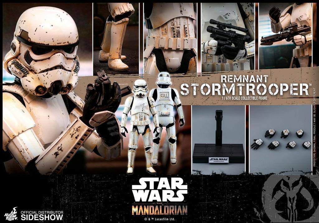 Figurine Star Wars The Mandalorian Remnant Stormtrooper 30cm 1001 Figurines (14)